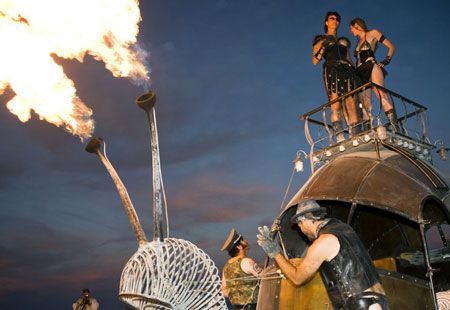 Burning Man, Black Rock City, Nev
