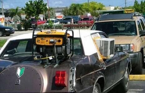 Redneck Air Conditioner Repair
