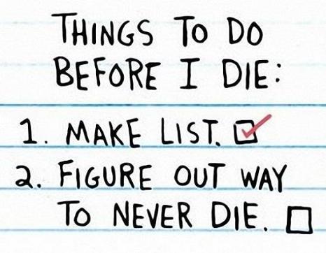 Where Is My List Again