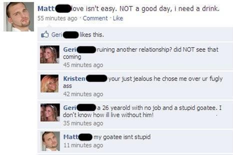 Awkward Moments in Facebook
