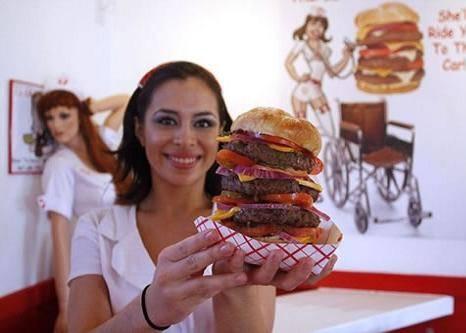 Hi, Did You Order The Heart Attack Burger