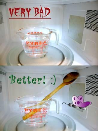 Microwaving Water