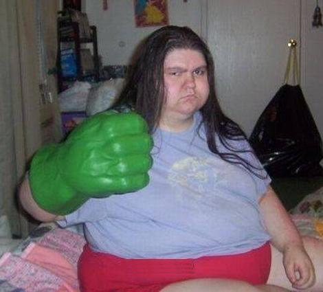 Hulk Mad!  Hulk Want Pizza Now!!!