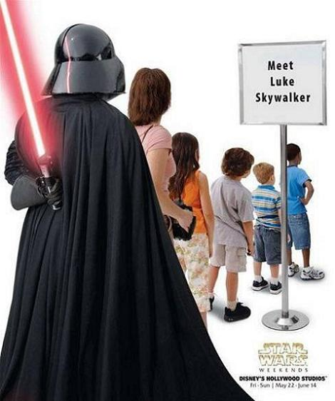 I Can't Believe I Have To Stand In Line Just To See My Own Kid!  I Swear I'm Going To Spank Him With This Thing!