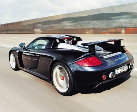 Porsche Carrera GT (205 mph)