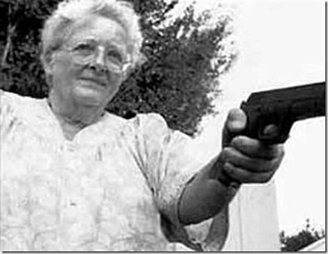Rambo Granny