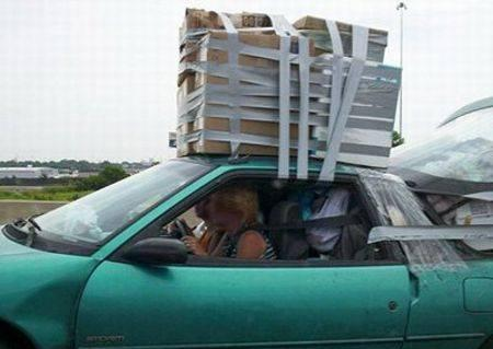 Redneck Roof Rack