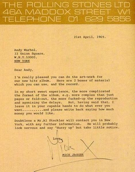 So That's How You Hire Andy Warhol...If Your Mick Jagger