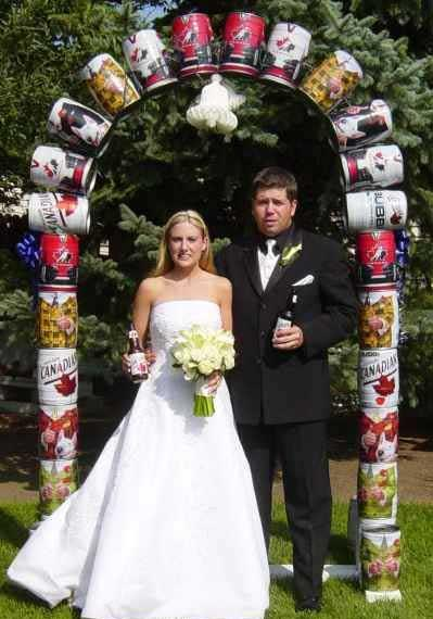 Classy Redneck Wedding