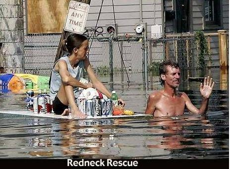 Well At Least They Saved The Beer