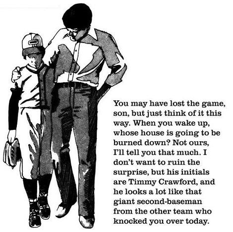 A Great Father Son Moment