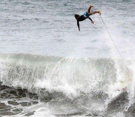 I Didn't Fall Off I Created A New Sport!  Surf Diving!
