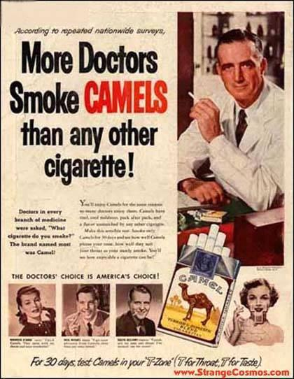 1930's Ad - More Doctors Then What