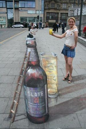 Chalk Art Beer