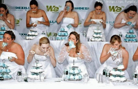 I Think Their Going To Need The Prize Money For A Bigger Wedding Dress