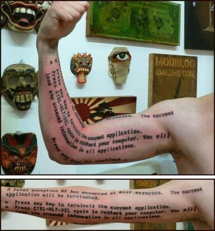 Nerdiest Tattoo Ever