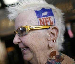 Football Granny