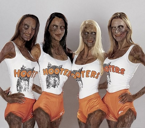 Sexy Zombies...Why Am I Not Surprised