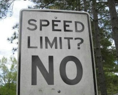 Finnally A Speed Limit We Can Live With