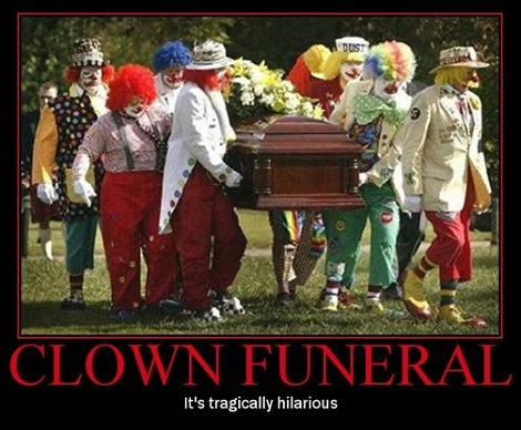I Wonder how Many Of Them Are Going To Pop Out Of The Casket