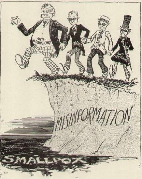 History repeats itself. Anti-vac comic from the 1940s