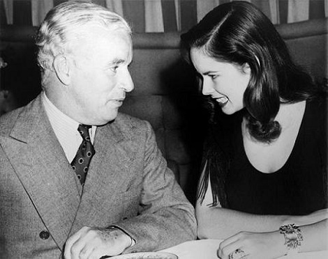 Charlie Chaplin With HisWife In A Nightclub, 1944...This Guy Is My Hero