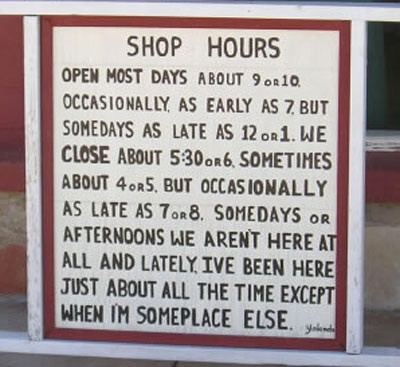 Hey, They Don't Pay Us Enough To Come In On Time