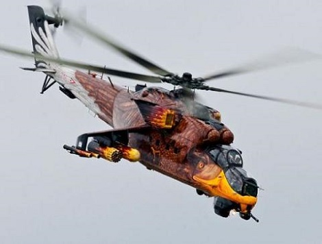 Let Me Guess, An American Baought A Russan Hellicopter