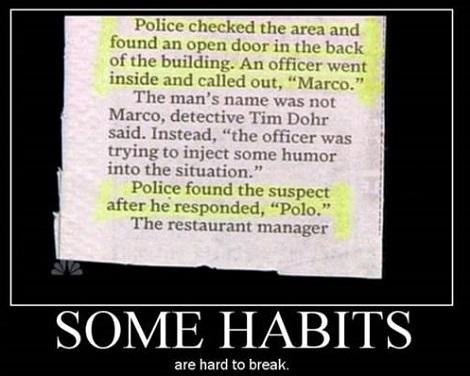 Never Underestimate The Stupididty Of The Criminal Mind
