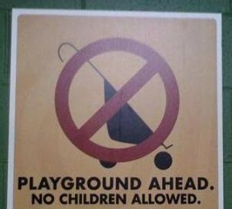 This Playground Is For Adults Only