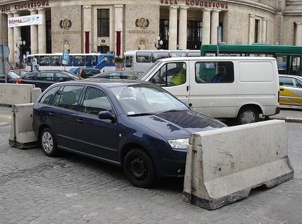Go Ahead And Park There We Don't Mind