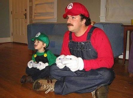 His Name's Mario Jr. Of Course