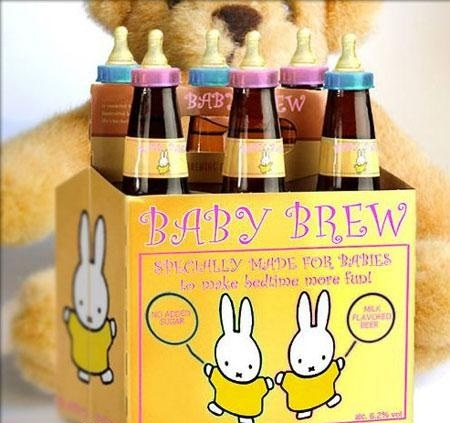 Start Your Kids Drinking Problem Early With Baby Brew.  Only Available In Mississippi & Arkansas