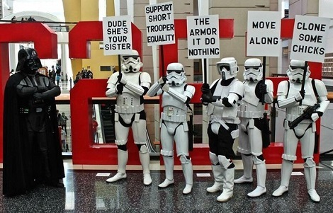 Storm Troopers On Strike
