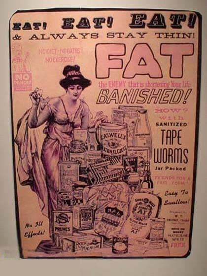1930's Ad - I've Never Seen That Fat Slob Look Better Then She Was On Her Death Bed