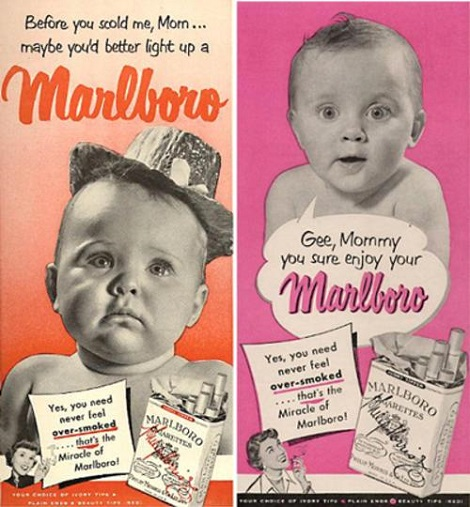 Who knew That the Marlboro Man Had A thing For MILKCs (Mothers I'd Like To Kill With Cancer)