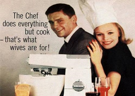 Because There's Nothing A Women Likes More Then To Cook For Her Man
