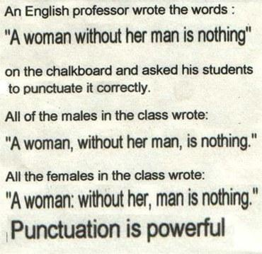 Not Just Learning Punctuation