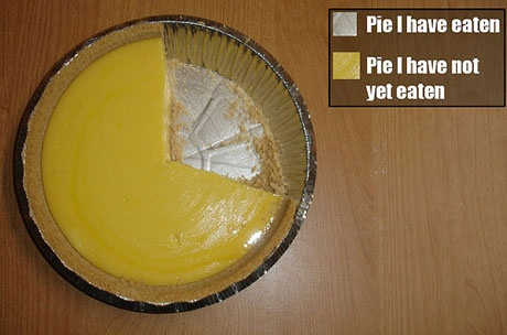 The Only Accurate Pie Chart