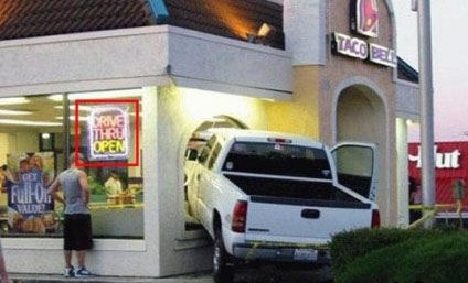 What, You Said The Drive Thru Was Open