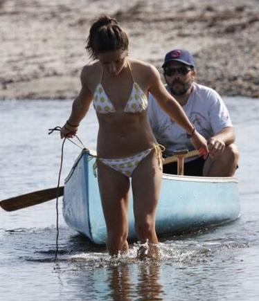 What, She's The One Already Wearing The Bathing Suite