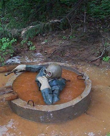 Worlds Worst Job - Septic Tank Diver