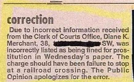 We Printed A Retraction What More Do You Want