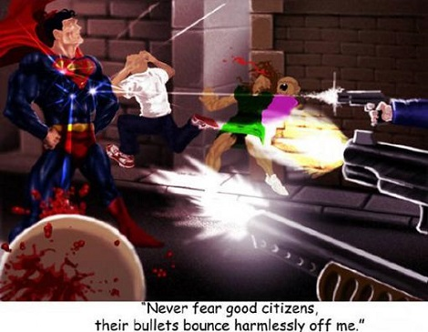 What, Did You Think Super Man Was Perfict