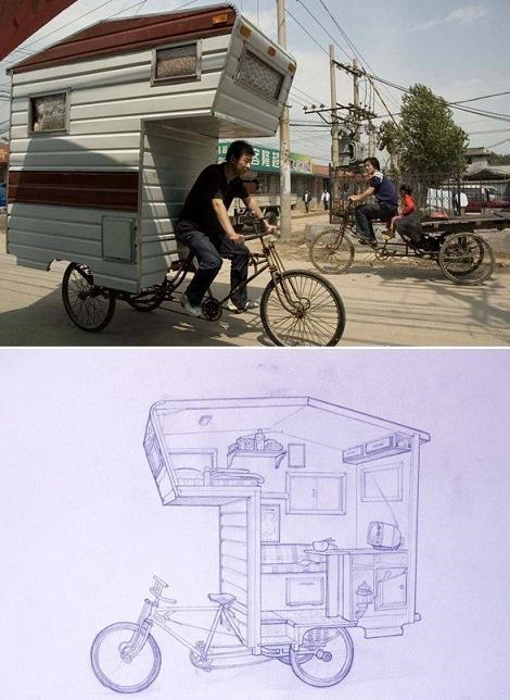 What, You Never Seen A Third World Mobile Home Before
