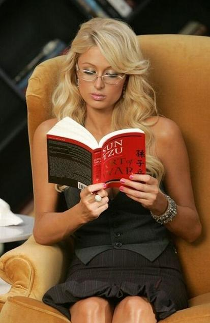 Somehow I Just Don't Buy That This IS What Paris Hilton Does With Her Free Time