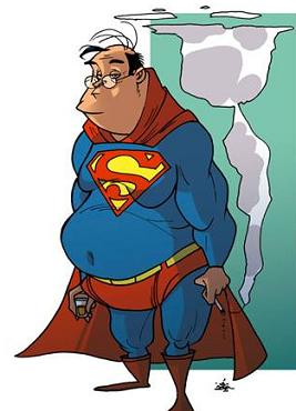 Bet You Never Thought Super Man Would Reach Middle Age Did You