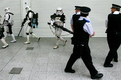 Don't Even Think About It Copper, The Empire Rules!!!