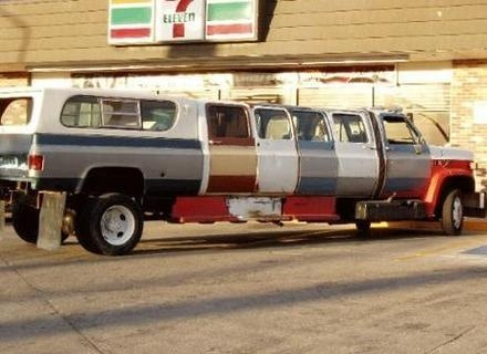 Redneck Stretch Limo