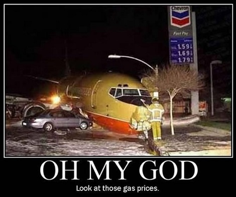 To Hell With The Plane, Where Are They Selling Gas That Cheap!